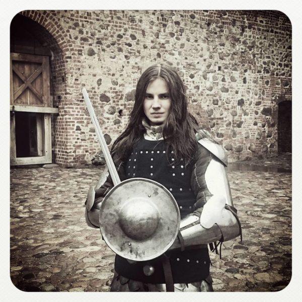 The Knight. Mir Castle, Belarus