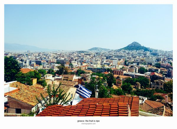 The Roofs of Athens. Greece