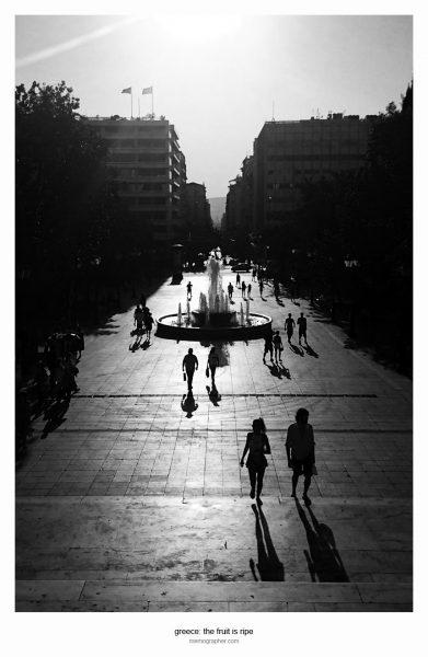 Street Photography. Athens, Greece