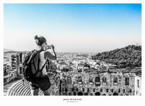 Street Photography. Acropolis, Greece