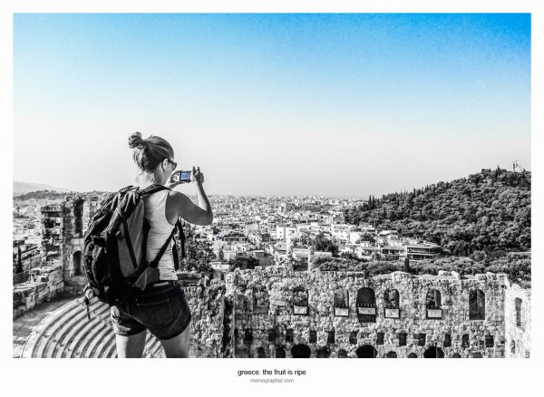 Street Photography. Acropolis, Greece
