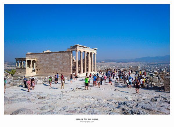 The Erechtheum. Acropolis, Greece
