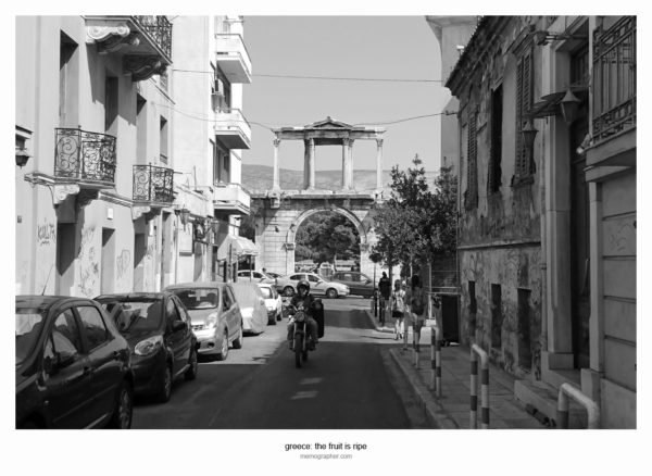 Photography from the Streets of Athens Greece